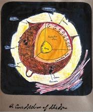 Example of Oak Meadow student work: Sky Journals, Grade 7 Science