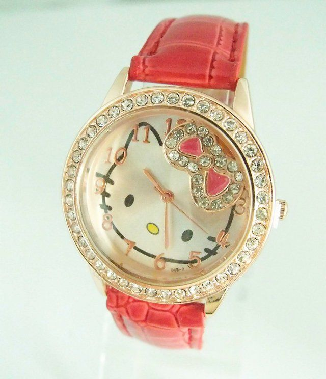 17 Best images about Hello Kitty bling watches on ...