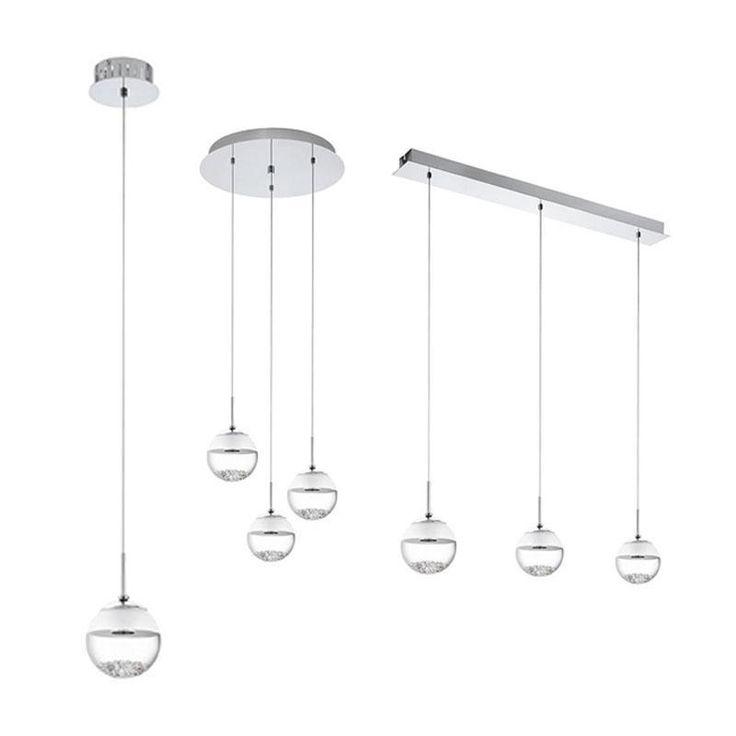 Montefio 1 LED Pendant Light Eglo Lighting