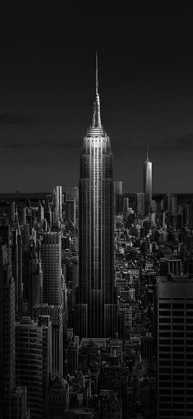 Urban Saga II - Empire State of Light  by Julia Anna Gospodarou - Empire State Building - New York