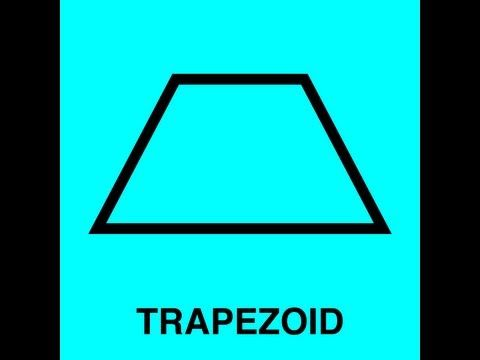 Trapezoid Song...they also have songs for square, rhombus,rectangle, and parallelogram. Great lesson launch or summary for middle and high school geometry!