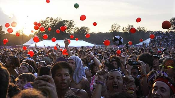 Manchester, Tennessee: go to the Bonnaroo Music and Arts Festival.