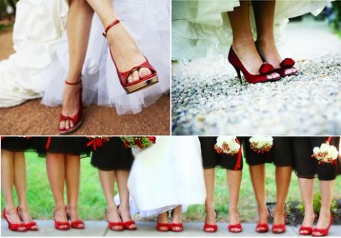 zapatos boda rojos