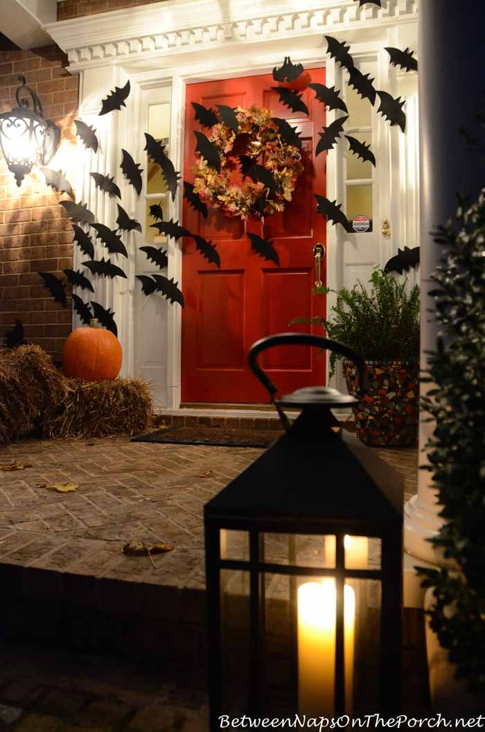 Decorate Your Mantel For Fall and Thanksgiving. Halloween Porch ...