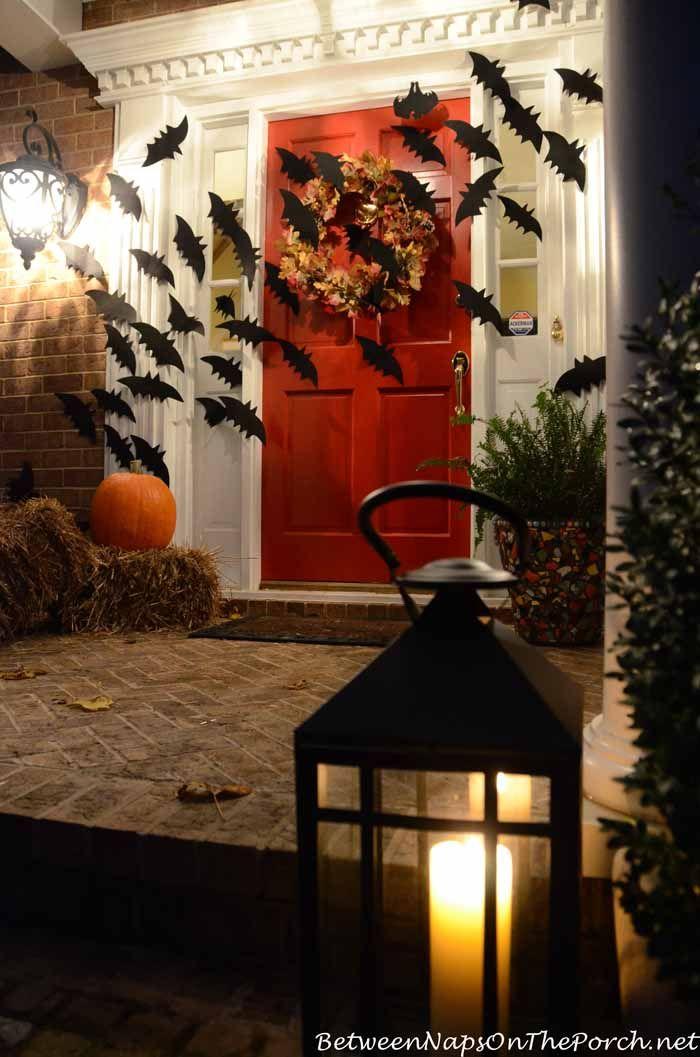 halloween net lights