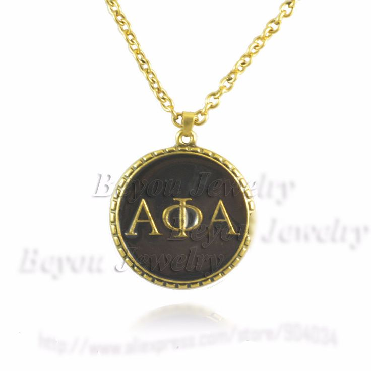 Alpha Phi Alpha Symbol Necklace