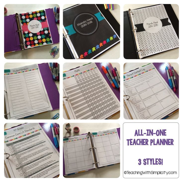 Everything you need to stay organized for the entire year! The All-in-One Teacher Planner contains lesson planning templates, calendars, classroom forms, and K-5 Common Core checklists for both Math and ELA . All lesson planning templates, calendars, and classroom forms are editable in PowerPoint. Simply add a text box and move text to the appropriate place.