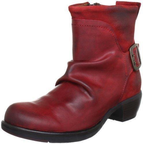 Oferta: 140€ Dto: -32%. Comprar Ofertas de Fly London Mel MEL - Botines fashion de cuero para mujer, color rojo, talla 36 barato. ¡Mira las ofertas!