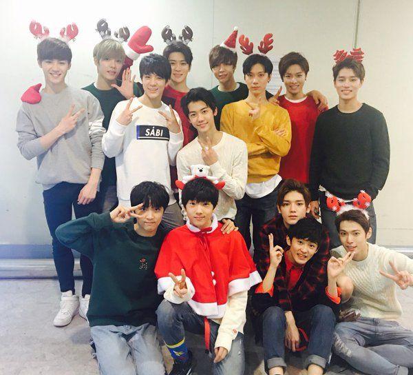 Kun, Hansol, Jeno, Jaehyun, Johnny, Ten, Yuta, Taeil