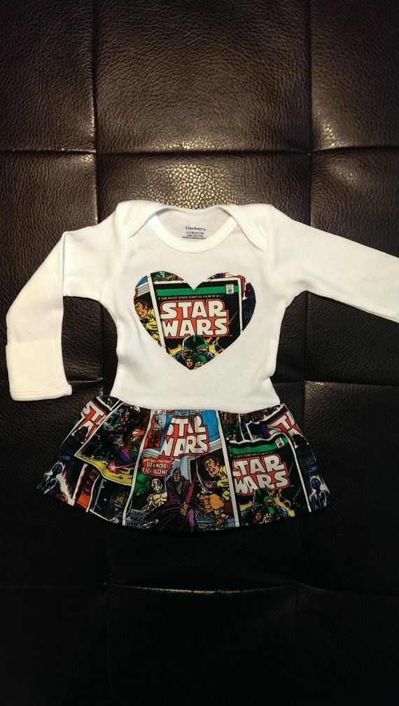 Star Wars Onesie Dress by BonitaCouture on Etsy