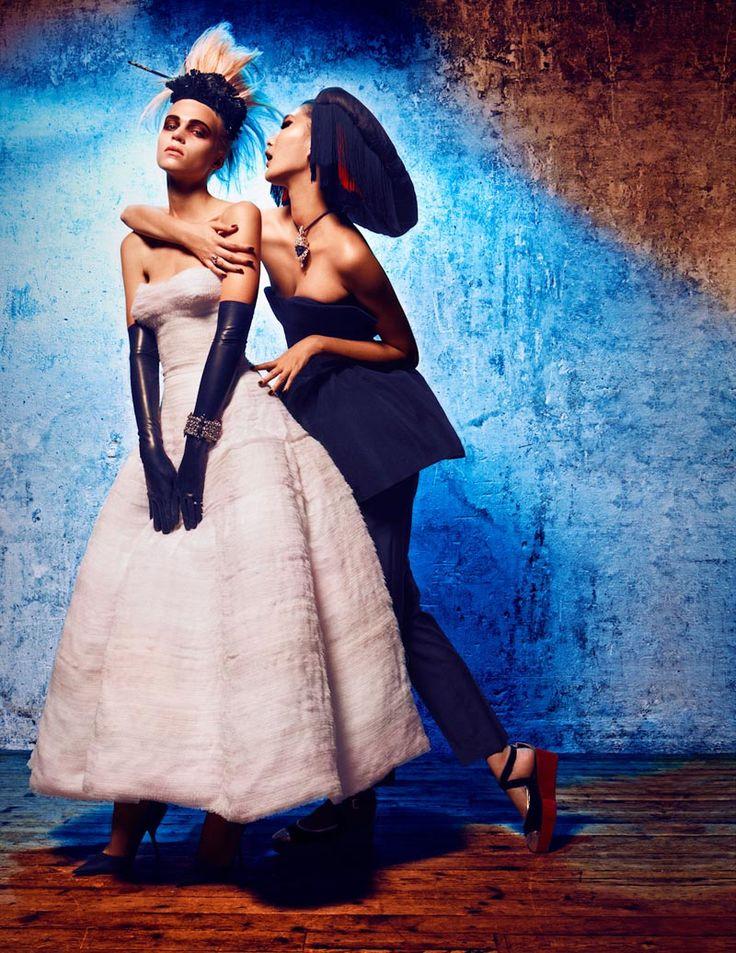 #the shoe - Alexander Neumann Captures Haute Couture Style for LOfficiel Paris October 2012