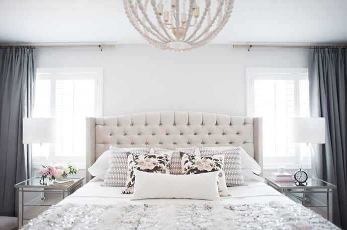 Click for details behind this master bedroom makeover, plus get design tips for your own home straight from the designers themselves.