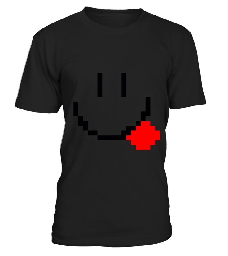 pixel smiley face  #gift #idea #shirt #image #music #guitar #sing #art #mugs #new #tv #cool  #videogames