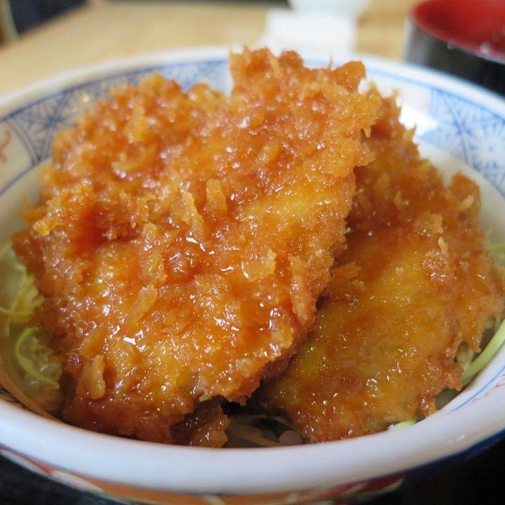 「駒ヶ根のきりの実でソースカツ丼。最高です。そばも美味。 #pork #tonkatsu #katsudon #cutlet #porkcutlet #japanesefood #komagane #nadano  #japan #yummy #ソースカツ丼 #カツ #きりの実 #駒ヶ根 #長野」