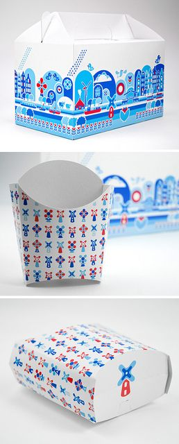 Dutch Pavilion Food Packaging by Mattmo. Perfect graphics on this #packaging PD
