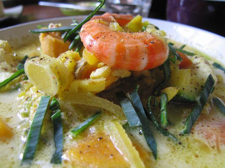 Seafood stew. Tromso, Norway.