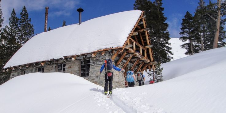 Sitting at 9,200 feet in a rugged alpine basin within Sequoia National Park, Pear Lake Ski Hut is the highest, and arguably the nicest, of California's winter backcountry huts. Available from December through April via a lottery and reservation system, the hut provides wintertime backcountry skiers