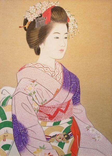 Itō Shinsui (1898-1972) L'amore per la bellezza e il senso del poetico, indissolubilmente legati, nella sensibilità giapponese, all'idea del mono-no-aware – cioè dello struggimento per ciò che, come, appunto, la bellezza, è transitorio e fugace – passano dall'avere per oggetto la delicatezza dei fiori o la freschezza di un paesaggio primaverile al focalizzarsi sull'incanto e la poesia della femminilità. Si contempla la donna con la stessa estatica ammirazione con la quale si contemplano la…