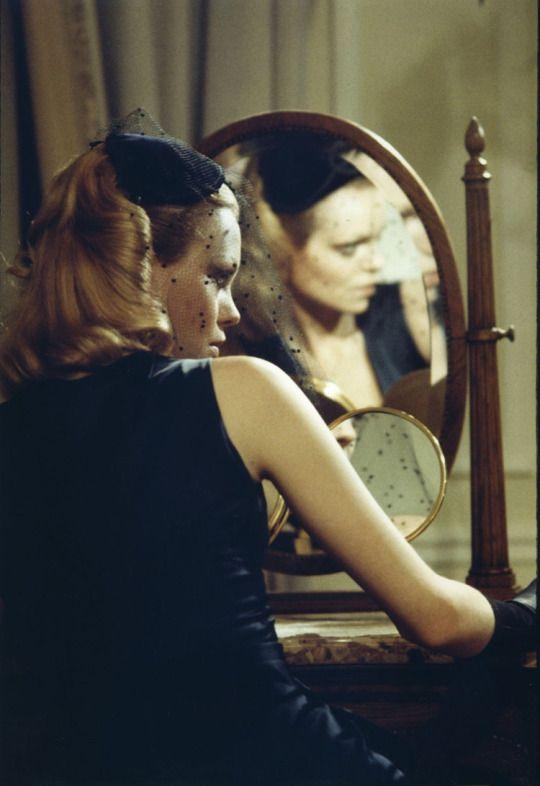 Barbara Valentin in Rainer Werner Fassbinder's 1973 film World on a Wire