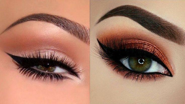 Simple Smokey Eye for Beginners ❤❤❤ EASY Everyday Smokey Eye Makeup Tuto...