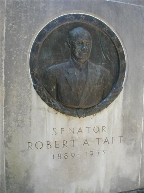 Robert Alphonso Taft, Sr - US Senator. A member of the Republican Party and a conservative, he served as a representative from the state of Ohio in the US Senate from 1939 until his death in 1953 and was regarded by historians as one of the most powerful US Senators of the 20th century. Born in Cincinnati, Ohio he was the oldest son of William Howard Taft, the 27th US President and later a US Supreme Court Justice.