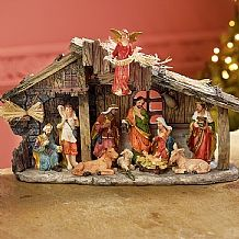 Nativity Nativity scenes were believed to be created by Saint Francis of Assisi for Midnight Mass in Greccio, Italy 1223. £32.99