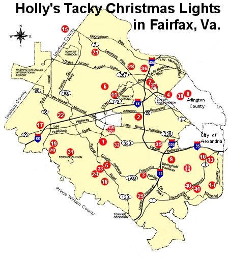 Tacky Lights Tour Northern Virginia