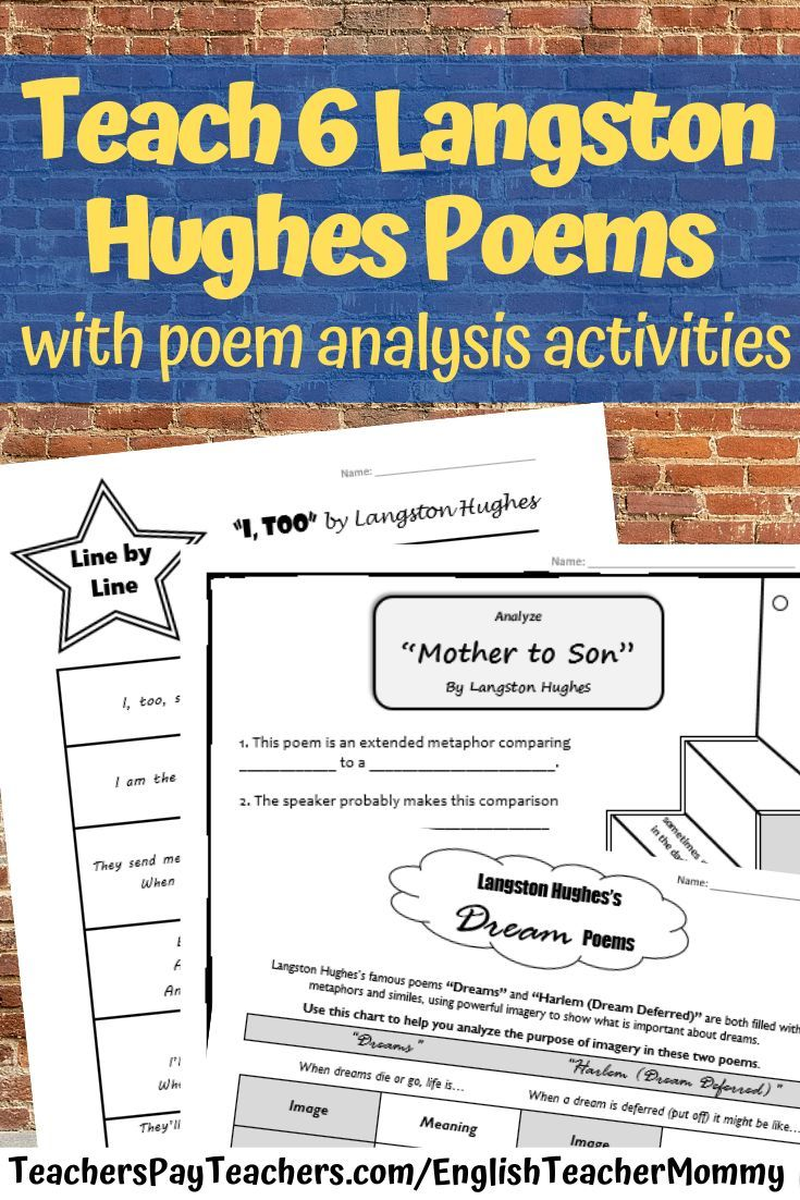 These Poem Activities For Middle School Are Great For Teaching Six