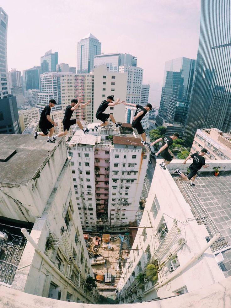 Storror roof gap running precision on Hong Kong highrise