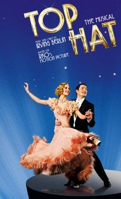 Top Hat The Musical arrives in London's West End http://theatrebreaks.co/wiki/Top_Hat. As an adult tapper just can't wait to see this show