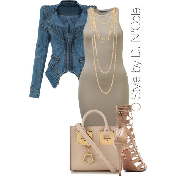 A fashion look from December 2014 featuring Aquazzura pumps, Sophie Hulme shoulder bags and Icepinkim necklaces. Browse and shop related looks.