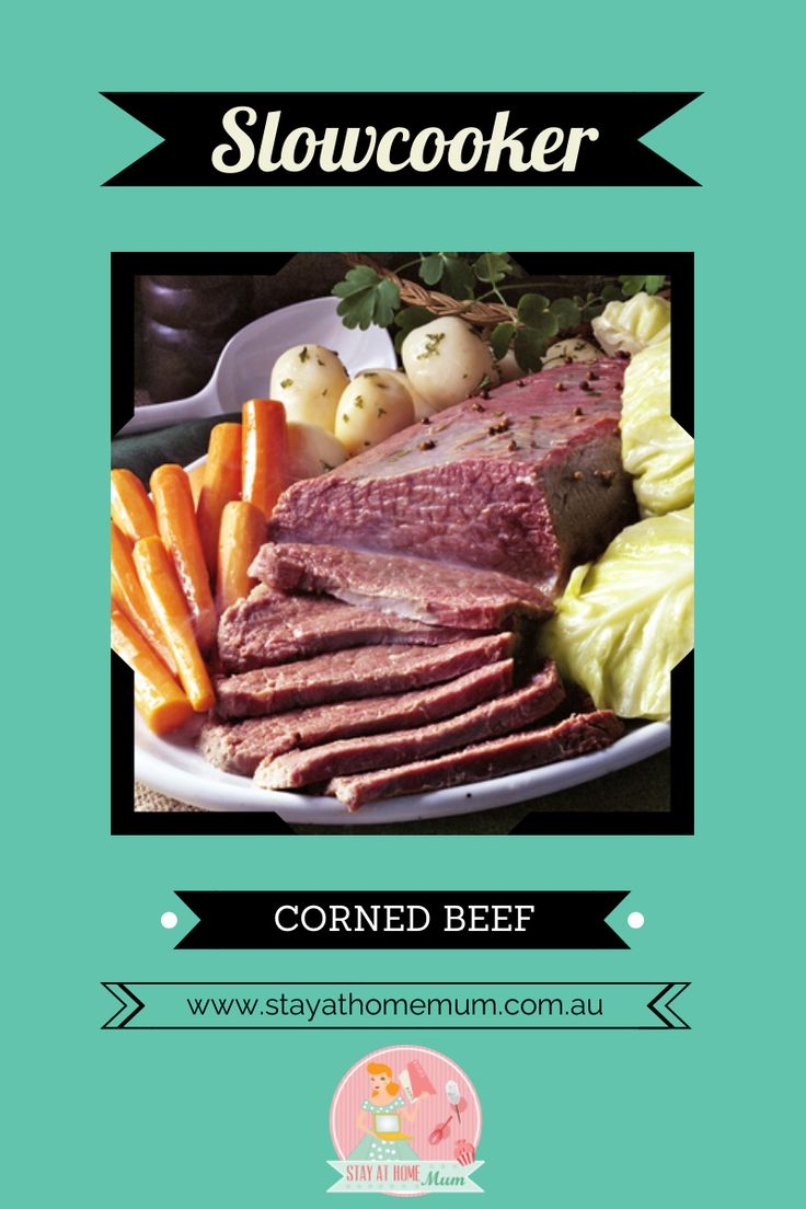 Slowcooker Corned Beef   Stay at Home Mum