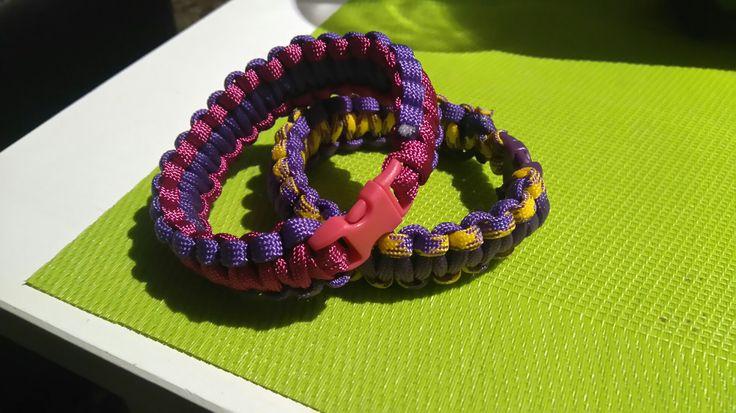 #Paracord #bracelet #diy #macrame