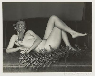 gas mask nude