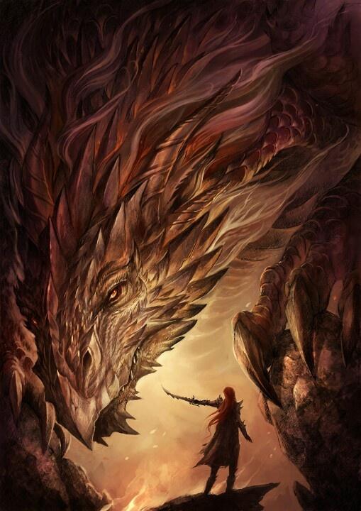 Dragon asombroso