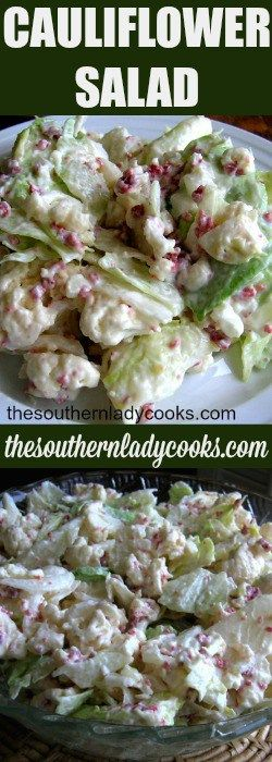 Cauliflower Salad is a great to serve anytime.  My family loves it in the summer and winter.  I have been making this cauliflower salad recipe for years and it has always been a favorite. I …