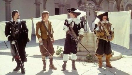 The Three Musketeers (1973); The Four Musketeers:  Milady's Revenge (1974).  Directed by Richard Lester.
