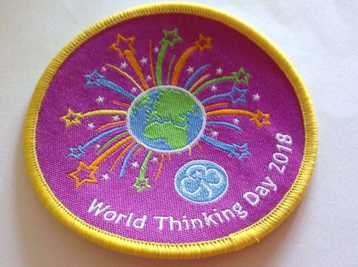 Girlguiding 2018 Thinking Day Badge  | eBay