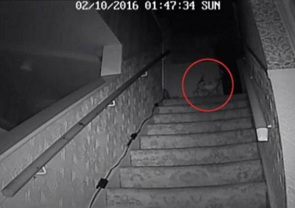 Rekaman Mengerikan di Rumah Paling Berhantu