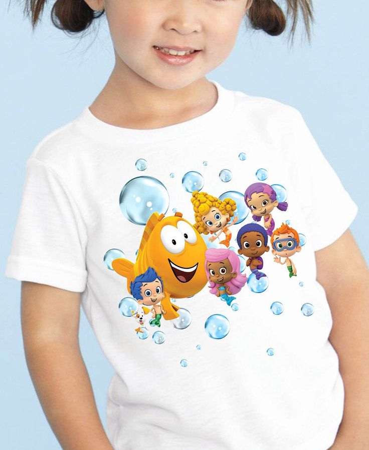 Bubble Guppies Iron On Transfer - Bubble Guppies Birthday -Bubble Guppies Girls Iron On Transfer - Bubble Guppies Tshirt - Bubble GuppiesDIY by HappyKidsPrint on Etsy https://www.etsy.com/listing/262241402/bubble-guppies-iron-on-transfer-bubble