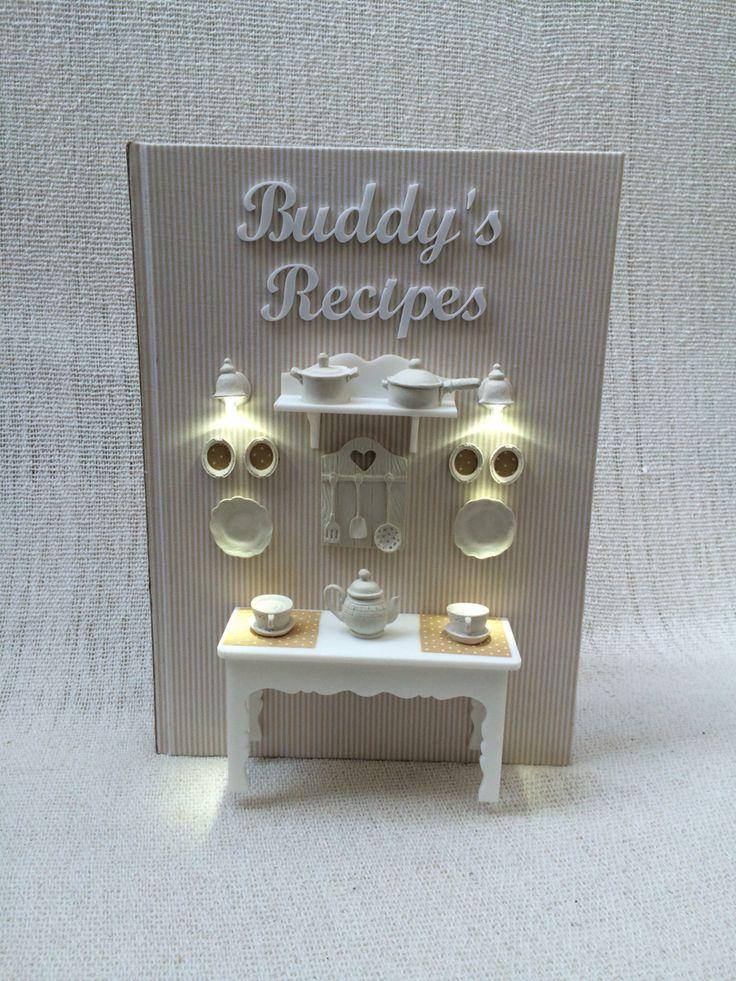 Livro de receita feito para o Buddy