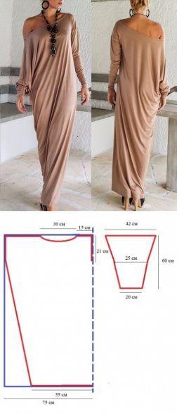 Разбираем моделирование и крой трикотажных платьев, топов и т.д.