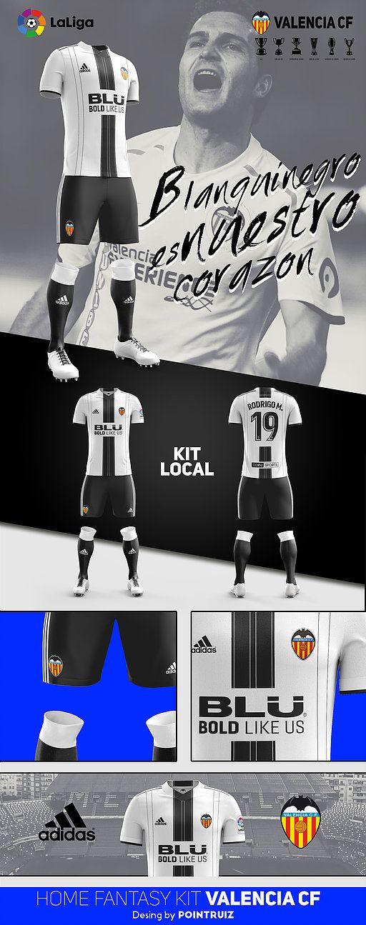 equipaciones futbol valencia