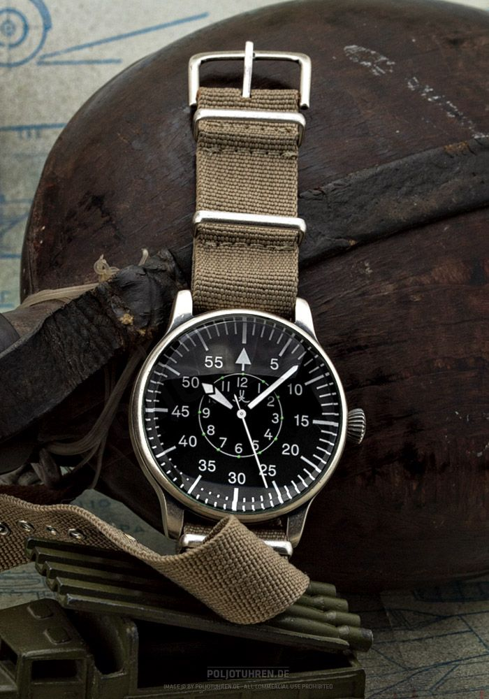Tisell Pilot-B-Type 43mm Automatic