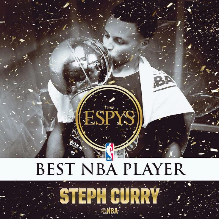 Congrats to @StephenCurry30 on winning the award for #BestNBAPlayer at the 2015 @ESPYS. #Curry #Warriors #DubNation