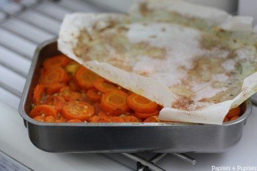 Carottes aux zestes d'oranges à l'ail et au persil de Jamie Oliver