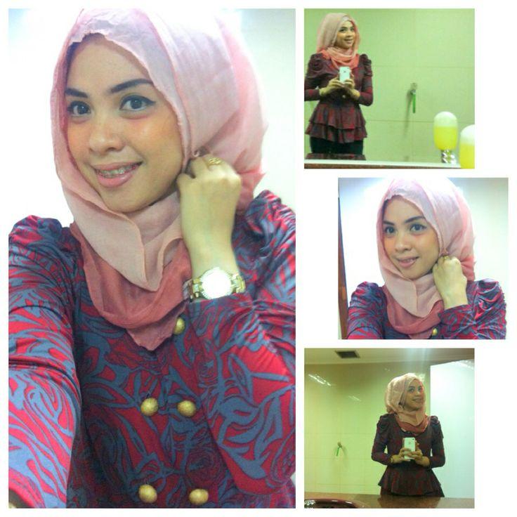 baju motif inspirasi hijab