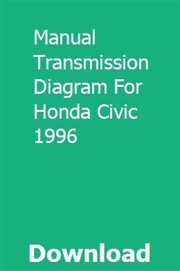 Manual Transmission Diagram For Honda Civic 1996   Honda ...