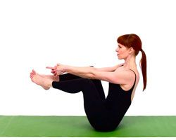 Yoga for Flat Abs (in just 8 minutes!): Flash:Flat abs in eight minutes sounds almost too good to be true! A routine for sculpted abs that gets you flat abs & fit in those sexy dresses in no time...have fun