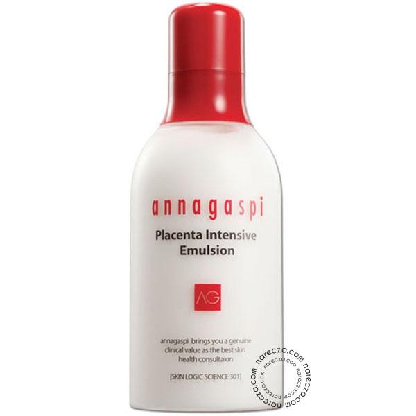 Annagaspi Yoğun Plasentalı Nemlendirici Süt  Annagaspi Placenta Intensive Emulsion Yoğun Plasentalı Nemlendirici Süt, ciltteki tahrişi azaltır, içeriğindeki besleyici maddelerin tamamının emilmesine yardımcı olur ve aktif bileşenlerinden maksimum etki sunar.  Satın almak için tıklayın --> http://www.narecza.com/annagaspi-yogun-plasentali-nemlendirici-sut-urun2313.html